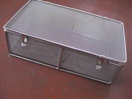SUS金網製 医療器具の洗浄バスケット