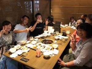 八尾金網夏の食事会